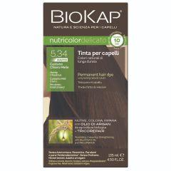 נוטריקולור דליקטו צבע מהיר לשיער ערמונים טבעי בהיר עדין 5 135ml - ביוקאפ BIOKAP
