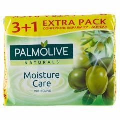פלמוליב סבון מוצק עם תמצית זיתים רביעייה Palmolive