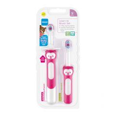 סט מברשות שיניים לתינוקות MAM - סגול