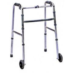 הליכון משוכלל מתקפל עם גלגלים