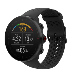 שעון מולטי ספורט פולאר ואנטג' M שחור Polar Vantage M