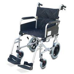 """כסא גלגלים להעברה מאלומיניום רוחב 40 ס""""מ"""
