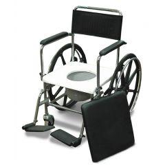 כסא רחצה ושירותים להנעה עצמית