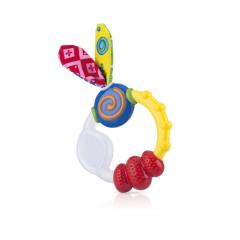נשכן טבעת משולב סיליקון - נובי Nuby