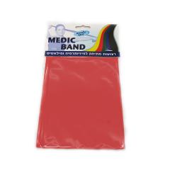 רצועת תרגול נמתחת אדום MEDIC BAND מדיק ספא