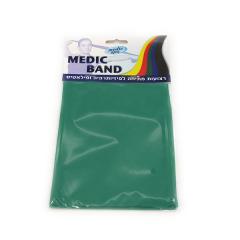 רצועת תרגול נמתחת ירוק MEDIC BAND מדיק ספא