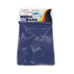 רצועת תרגול נמתחת כחול MEDIC BAND מדיק ספא