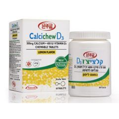 כצט קלציצ'ו D3  לימון CalciChew