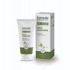 Ac Clear Face Cleancer 100ml| תרחיץ פנים טיפולי - קמדיס Kamedis