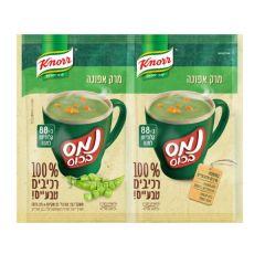 נמס בכוס מרק אפונה מרכיבים טבעיים 50 גרם - קנור