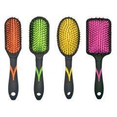 מברשות שיער צבעוניות בגדלים שונים - בסט