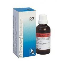 """טיפות הומיאופתיות 50 מ""""ל ד""""ר רקווג Dr Reckeweg R3"""