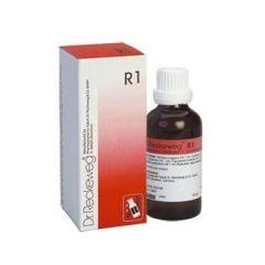 """טיפות הומיאופתיות 50 מ""""ל ד""""ר רקווג Dr Reckeweg R1"""