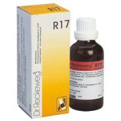 """טיפות הומיאופתיות 50 מ""""ל ד""""ר רקווג Dr Reckeweg R17"""