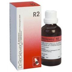 """טיפות הומיאופתיות, 50 מ""""ל R2 ד""""ר רקווג Dr. Reckeweg"""