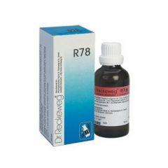 """טיפות הומיאופתיות 50 מ""""ל ד""""ר רקווג Dr Reckeweg R78"""