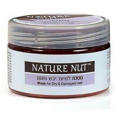 מסכה לשיער יבש ופגום נייטשר נאט Nature Nut