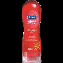 דורקס פליי מסאז' 2 ב 1 Durex Play Massage 2 In 1 Sensual 200 מ