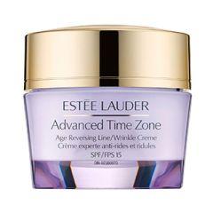 קרם להצערת העור ולטיפול בקמטים אסתי לאודר Estee Lauder Advanced Time Zone SPF 15