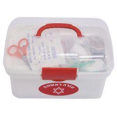 עזרה ראשונה קופסאת פלסטיק גדולה - מדיק ספא Medic Spa
