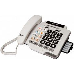 טלפון מוגבר + 8 לחיצי תמונות - Geemarc