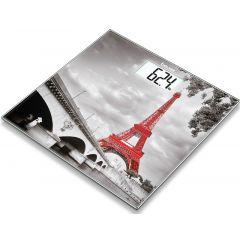 משקל אדם מזכוכית דגם פריז Beurer