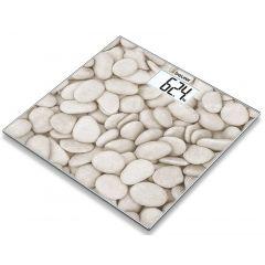 משקל אדם מזכוכית דגם אבנים Beurer