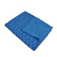 מגבת יוגה כחולה 180x62cm קוסמוטרייד