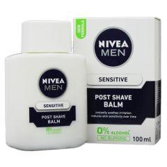 תחליב לחות לגבר לאחר גילוח לעור רגיש NIVEA MEN