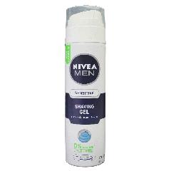 ג'ל גילוח לגבר לבעלי עור רגיש NIVEA MEN