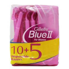 סכין גילוח חד פעמי לנשים בלו 2 Gillette