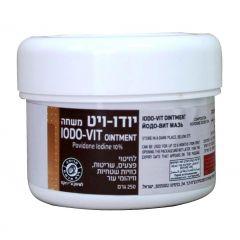 משחה יודו-ויט ויטאמד 250 גרם VITAMED Iodo-vit ointment