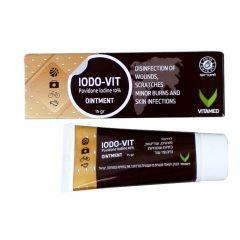 משחה יודו-ויט ויטאמד 15 גרם VITAMED Iodo-vit ointment