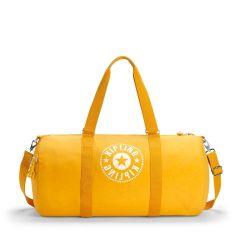 תיק ספורט גדול קיפלינג 33 ליטר Kipling ONALO L - LIVELY YELLOW צהוב תוסס