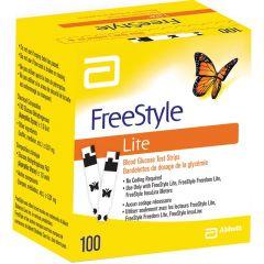 מקלוני בדיקה לבדיקת רמת הסוכר בדם פריסטייל FREESTYLE 100 יחידות