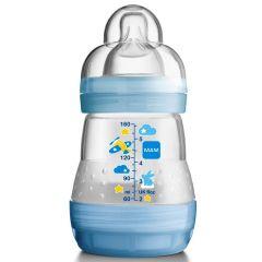"""בקבוק אנטי קוליק 160 מ""""ל 0+ MAM-בנים"""
