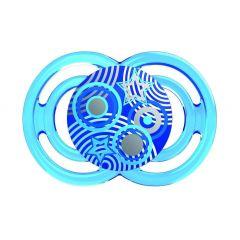 מוצץ פרפקט סיליקון 6+ בצבע כחול MAM