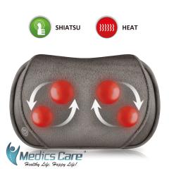 כרית עיסוי שיאצו בטכנולוגיית 3D הטובה בעולם MEDICS CARE