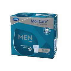 פדים לבריחת שתן לגברים - מולימד אקטיב 14 יחידות