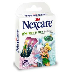 פלסטרים לילדים פיות נקסקר NEXCARE SOFT AND FLEX FAIRIES