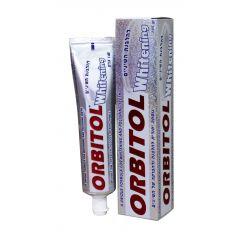 משחת שיניים למבוגרים להלבנת שיניים אורביטול ORBITOL WHITENING