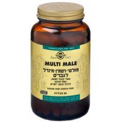 סולגאר Multi Male מולטי ויטמין 60 טבליות Solgar