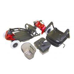 קלנועית קלה מתקפלת 4 גלגלים HS295U C.T.S