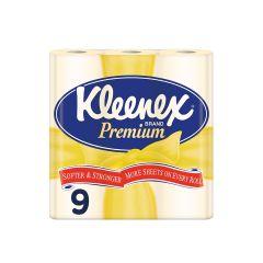 נייר טואלט צהוב kleenex premium