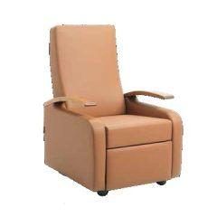 קומפורטק כורסא מתכווננת ידיות עץ - RECLINER