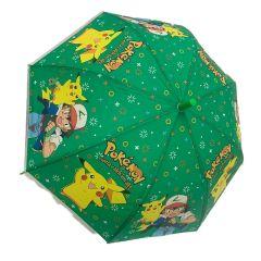 מטרייה פוקימון לילדים צהוב/ירוק