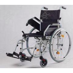 כיסא גלגלים אלומיניום קל 45*40 FREEWAY צבע אפור