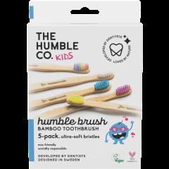 מארז 5 מברשות לילדים אולטרה סופט Humble Brush
