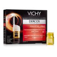 אמפולות אמנקסיל פרו לגברים Vichy Dercos Aminexil Pro MEN