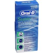 חוט דנטלי אורל בי לניקוי גשרים כתרים ומרווחים בין השיניים 50 יחידות Oral B